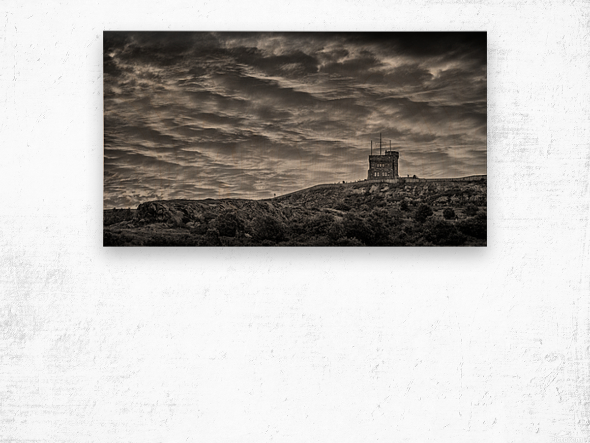 Amazing Skies Wood print