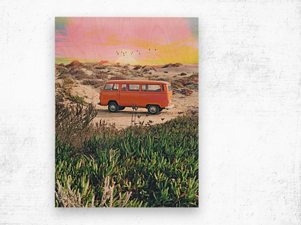 Summer Adventure Wood print