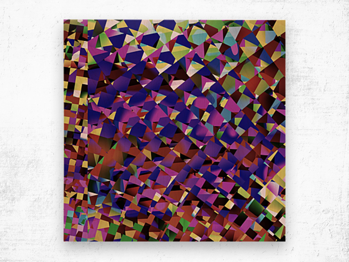 Again_And_Again Wood print