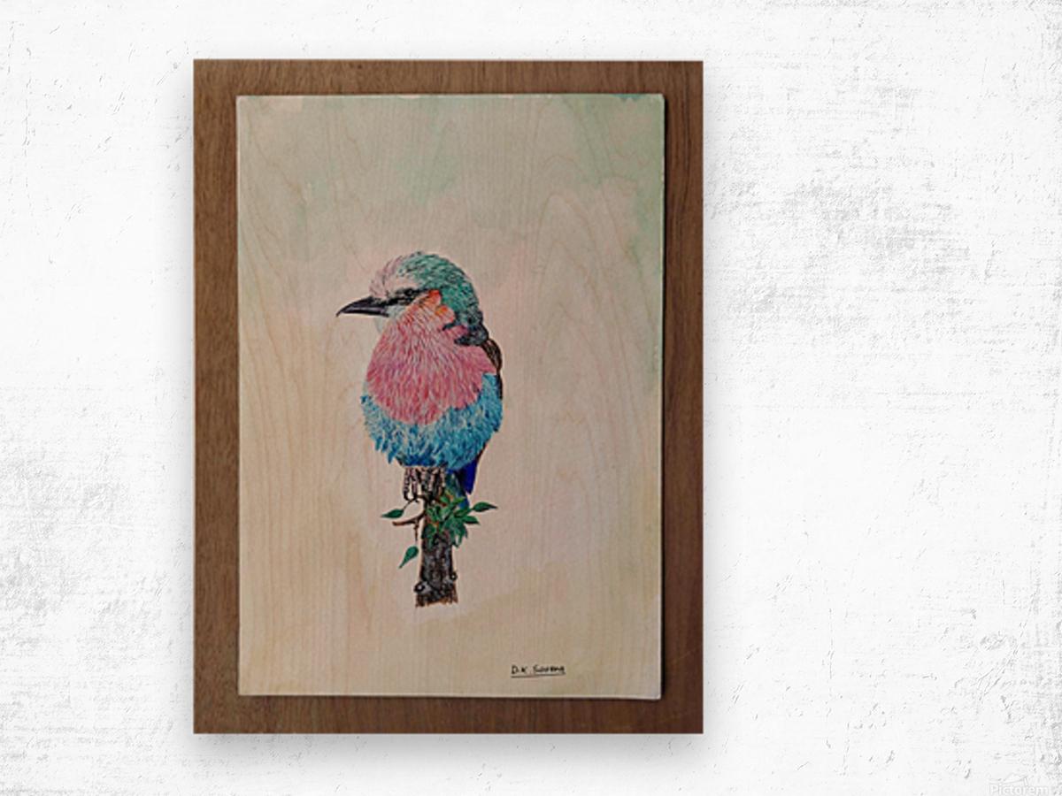 Robin_DKS Impression sur bois