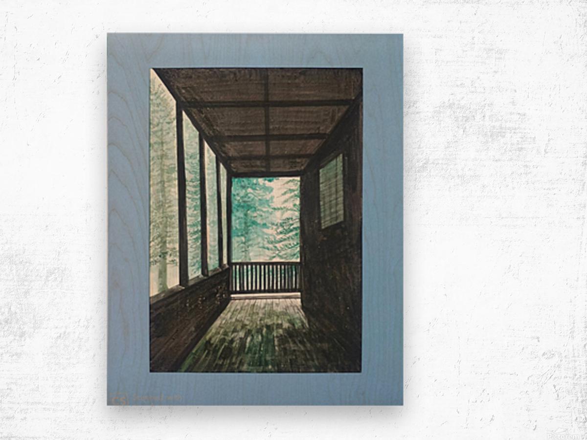 Guest House_DKS Impression sur bois