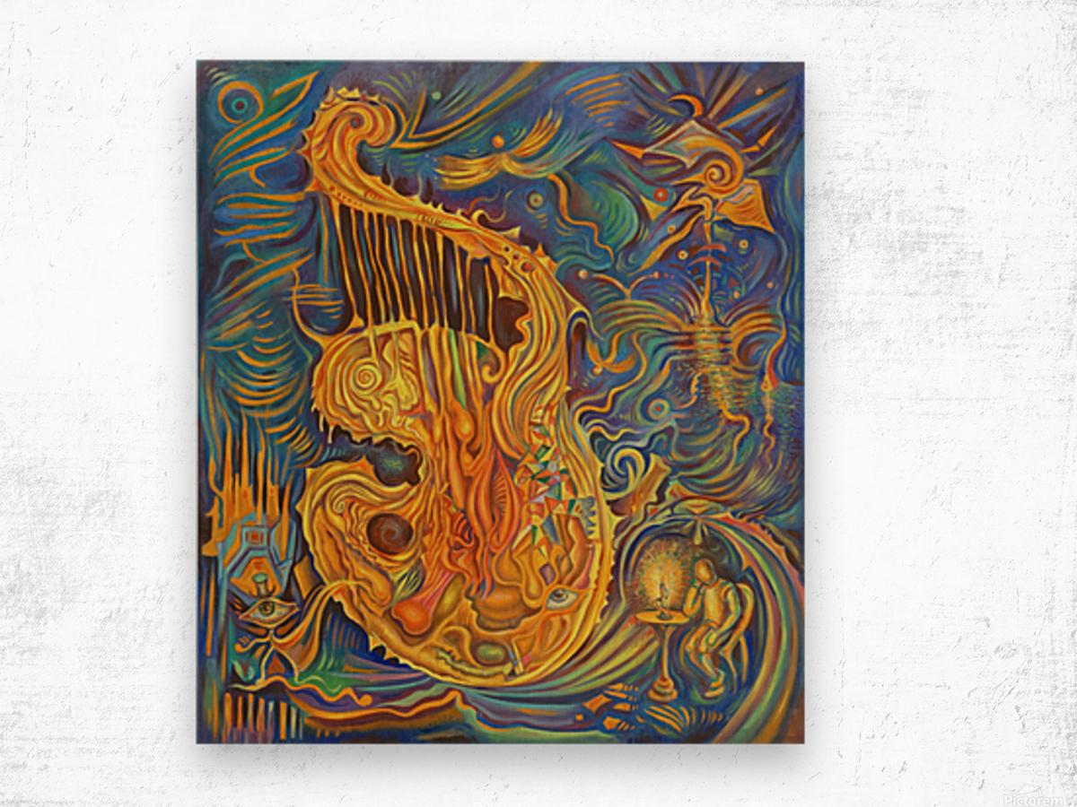 Artist_s_Soul Wood print