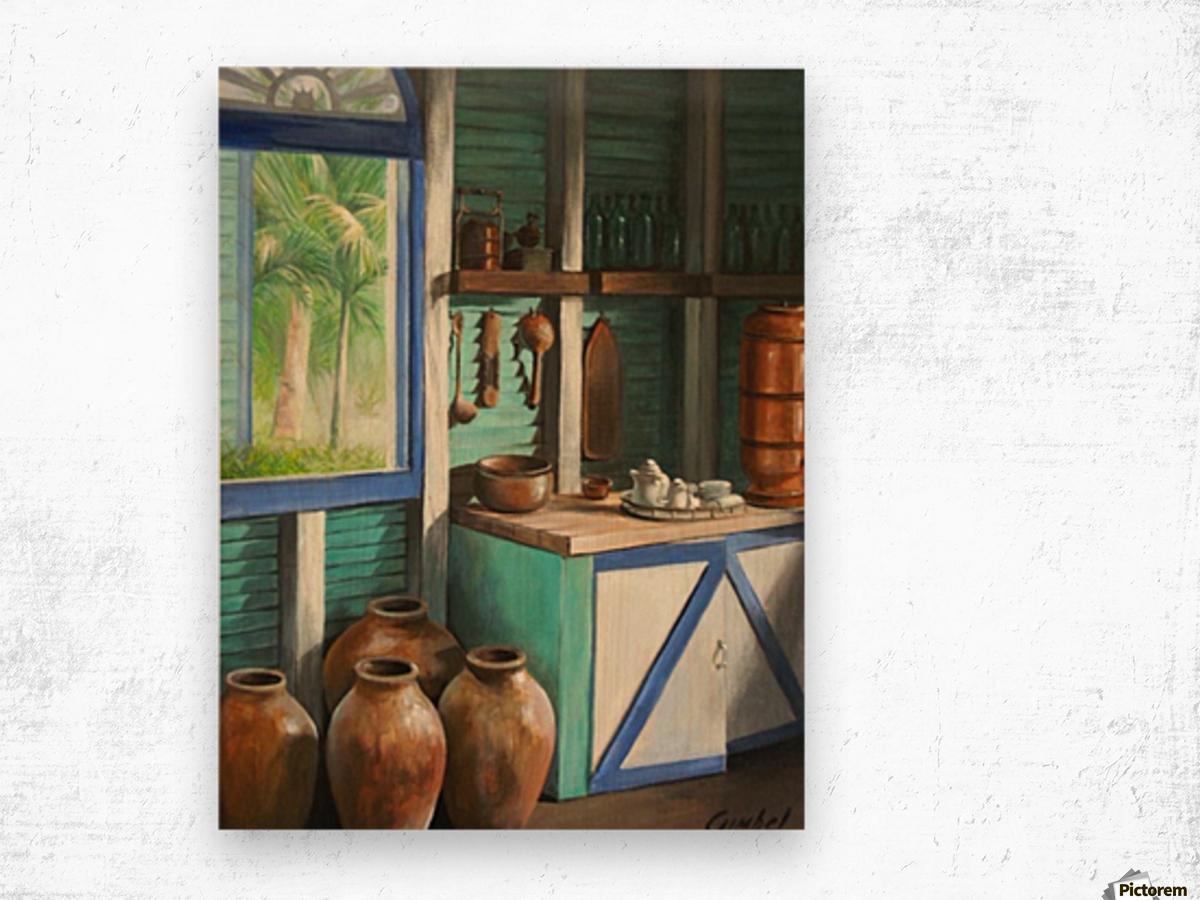 Retreat Wood print