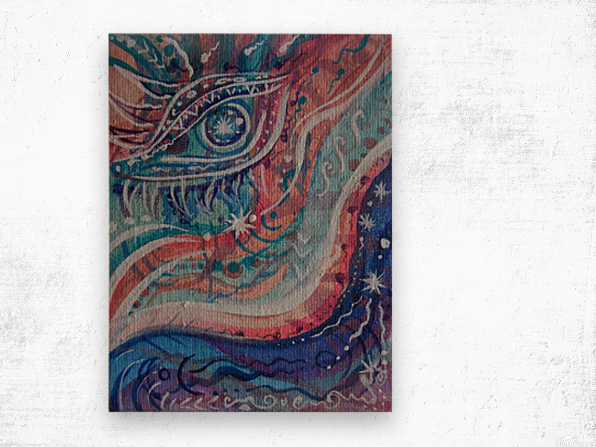 Breath Wood print