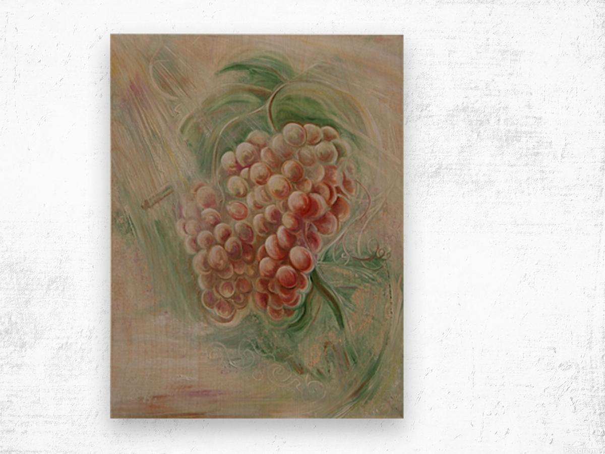 Grapes 14 Wood print