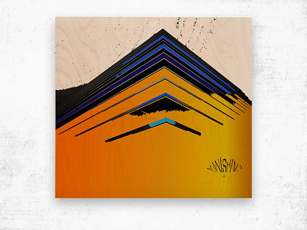 Vanishing by dePace Wood print