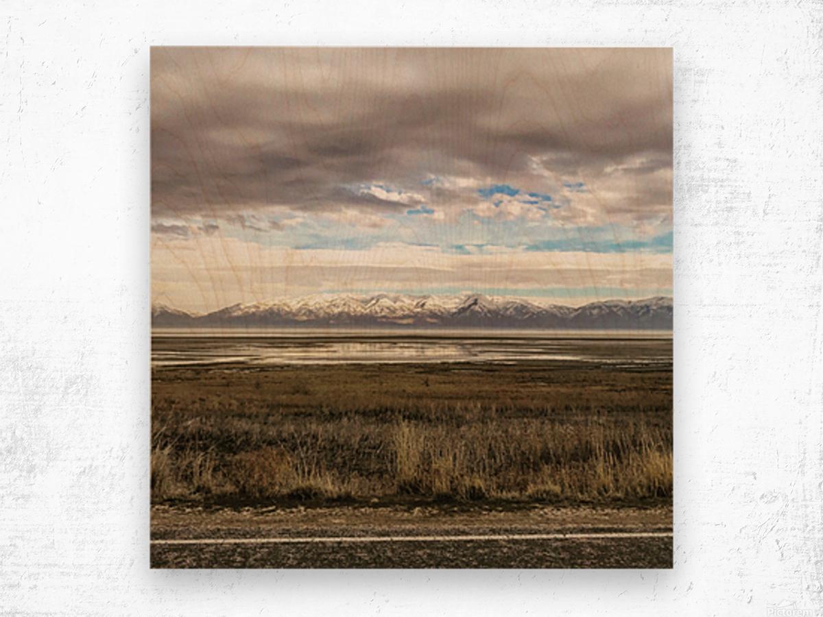 Great Salt Lake Wood print