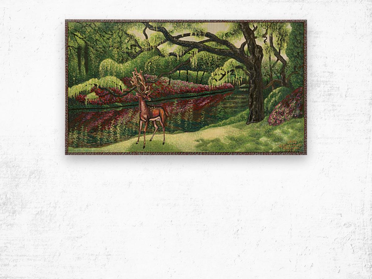 1992 07 Wood print