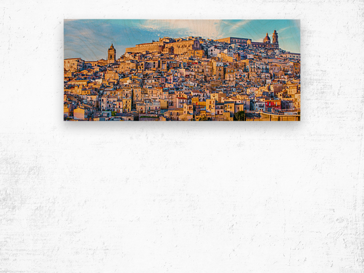 Caltagirone CT Wood print