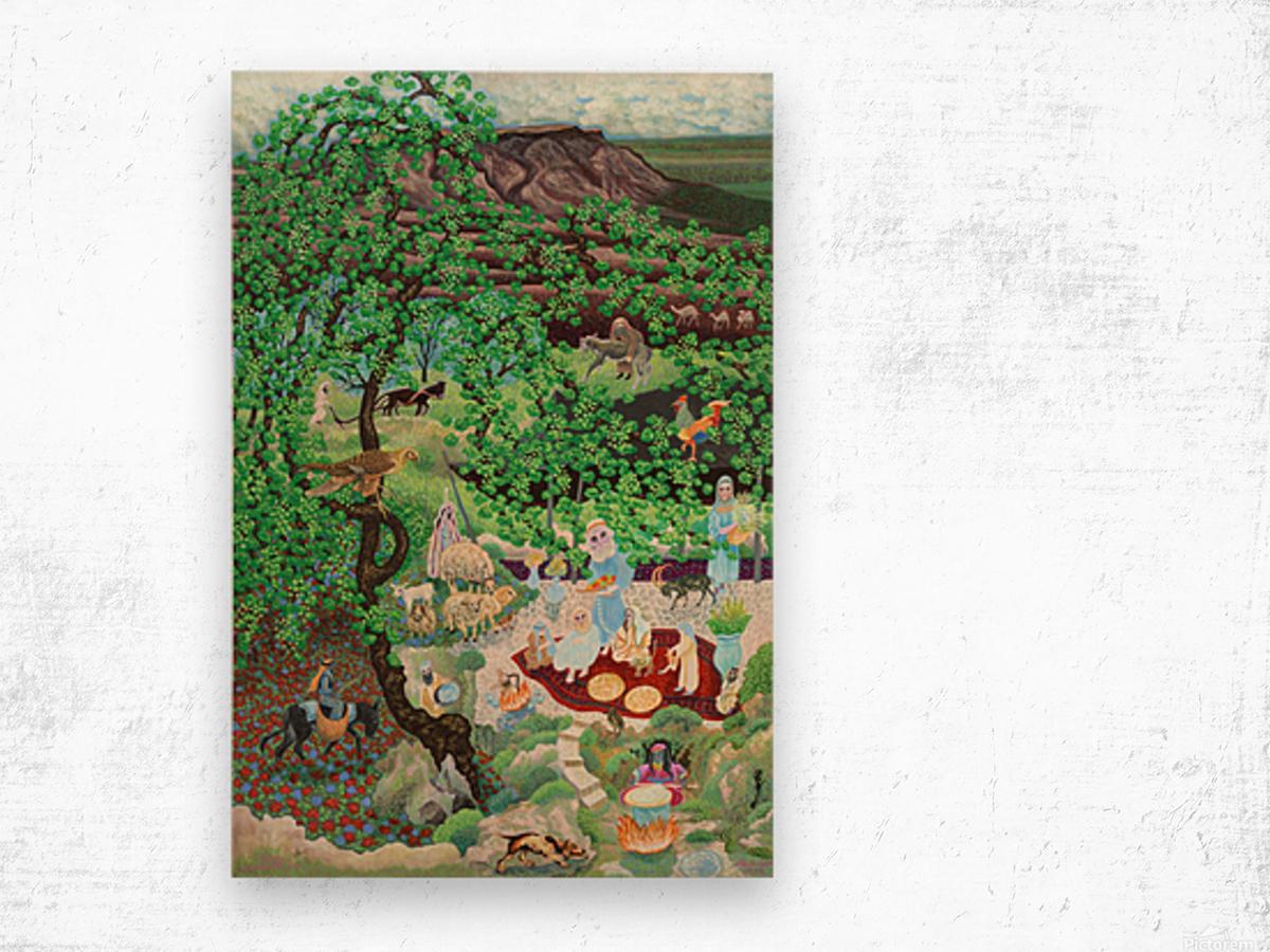 1990 05 Wood print