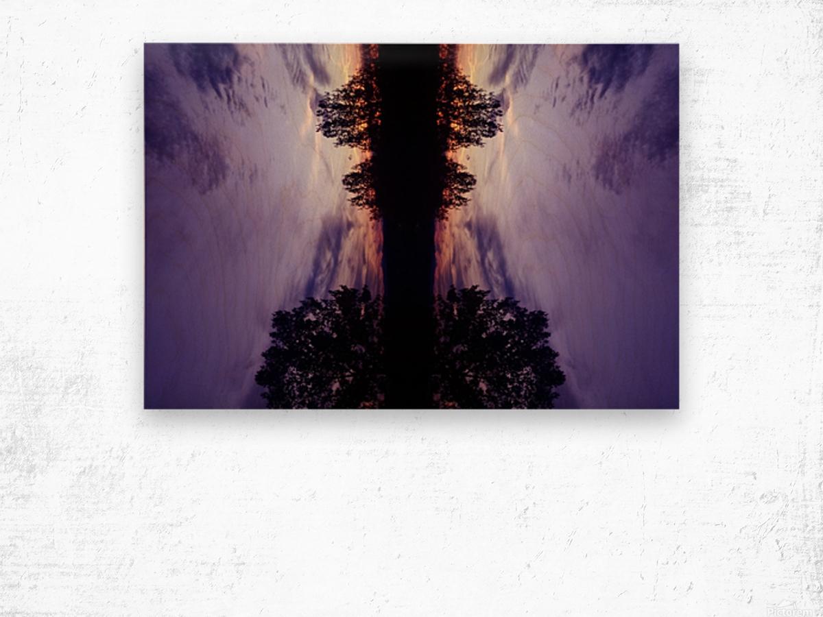 Cloudes 82 Wood print