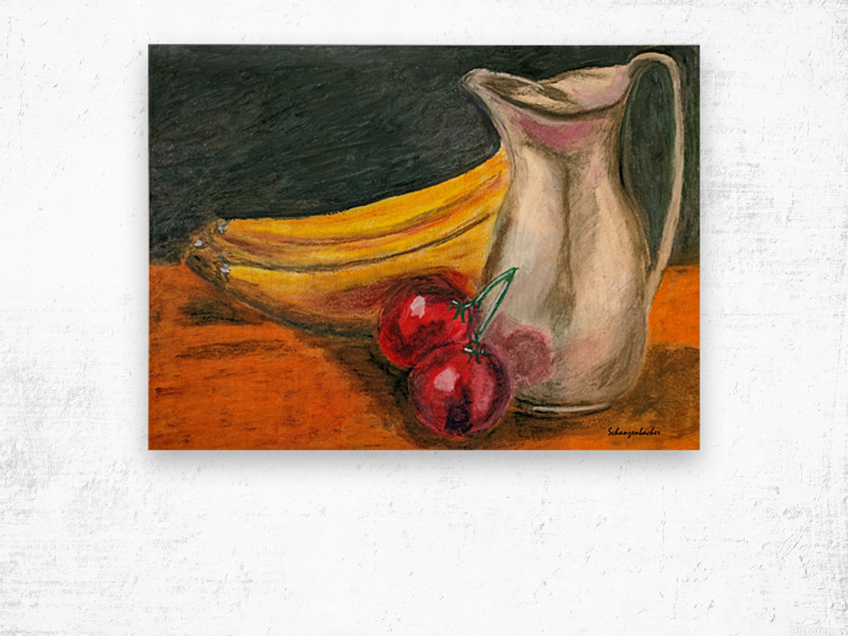 Fruit for Lunch Wood print
