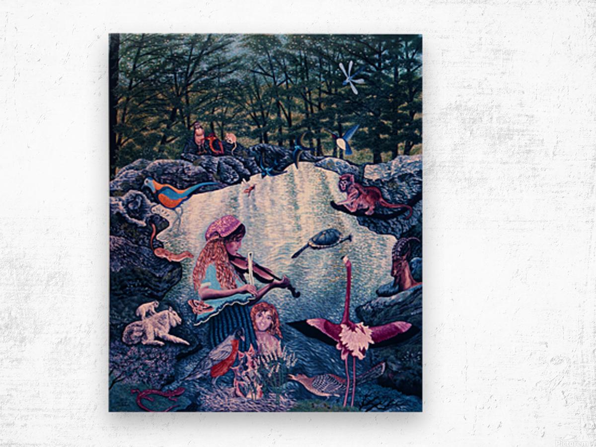 1987 026 Wood print