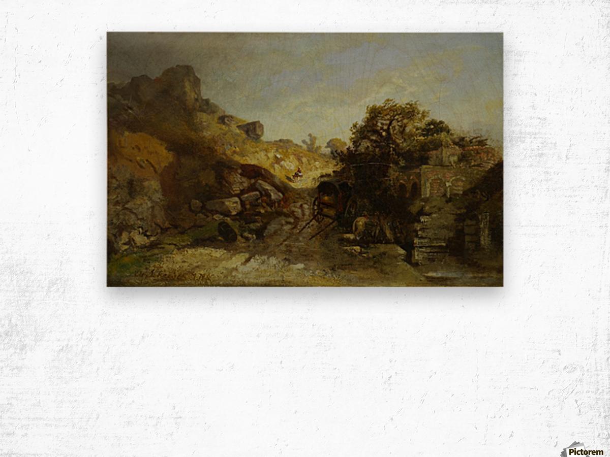 Walachische Landscape Wood print
