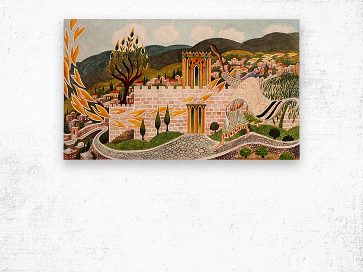 1989 16 Wood print