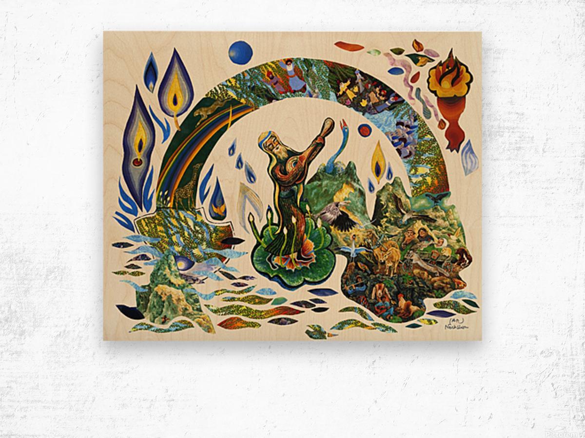 1989 027 Wood print