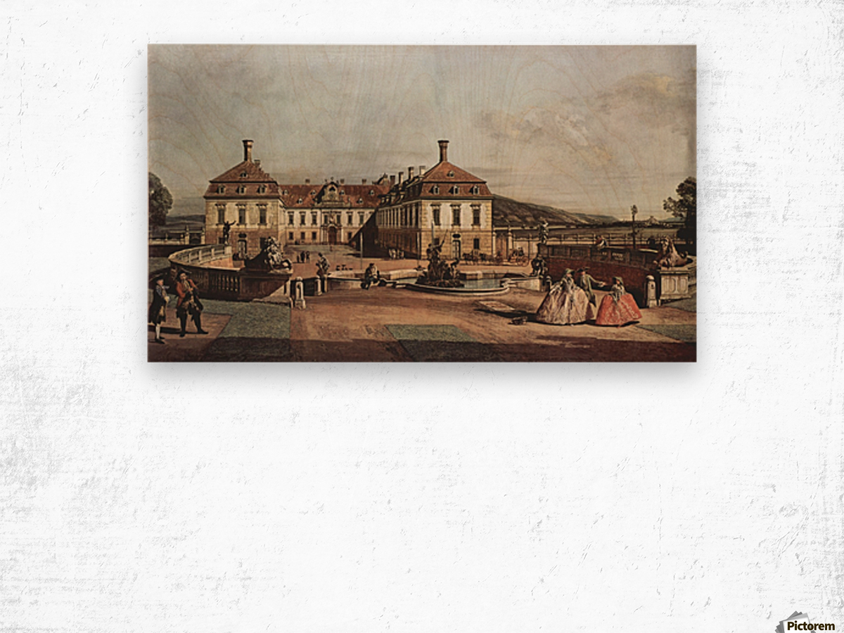The imperial summer residence, courtyard Wood print
