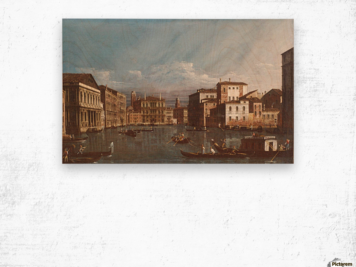 Arno in Florence Wood print