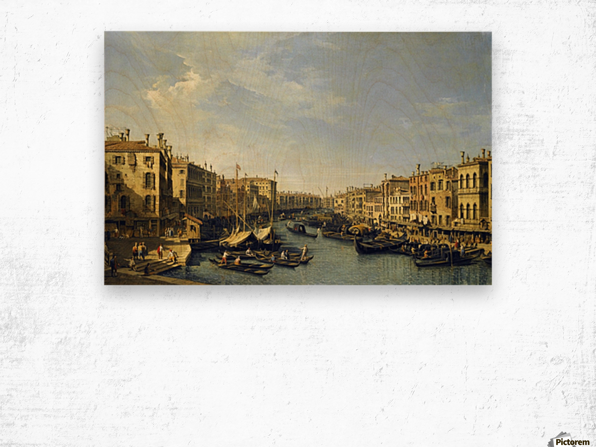 Venice - The Grand Canal Wood print