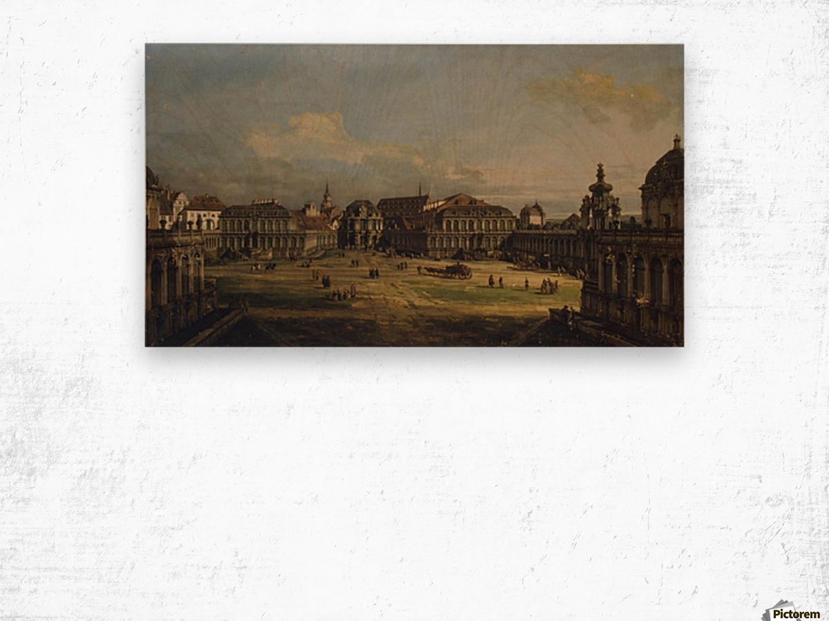 Zwinger in Dresden Wood print