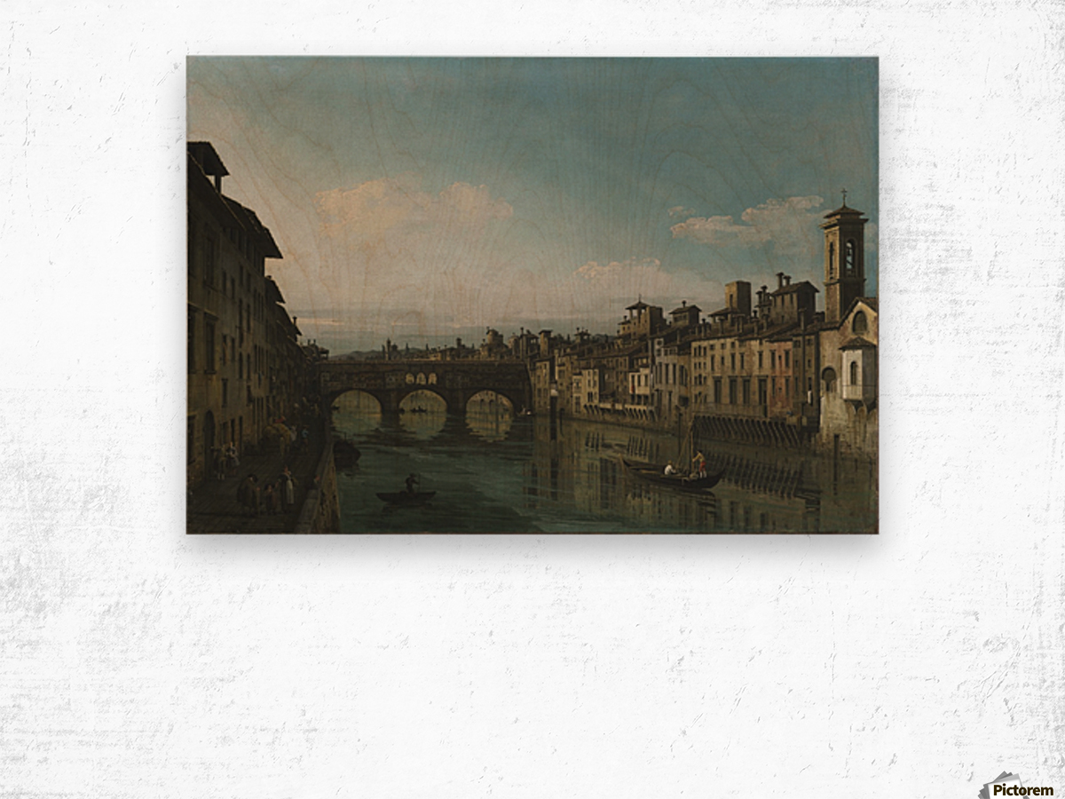 City of Florence Wood print