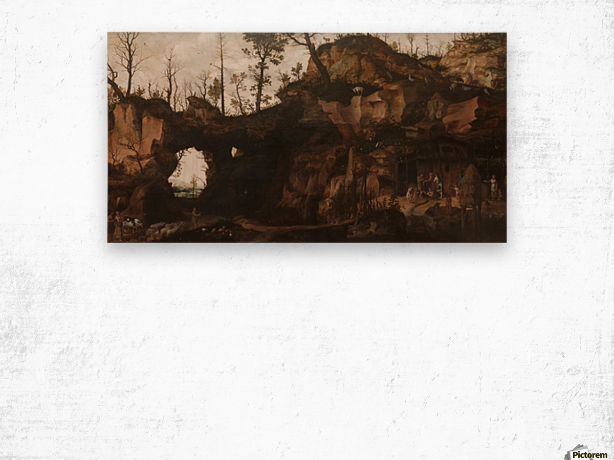 The Dawn of Civilization Wood print
