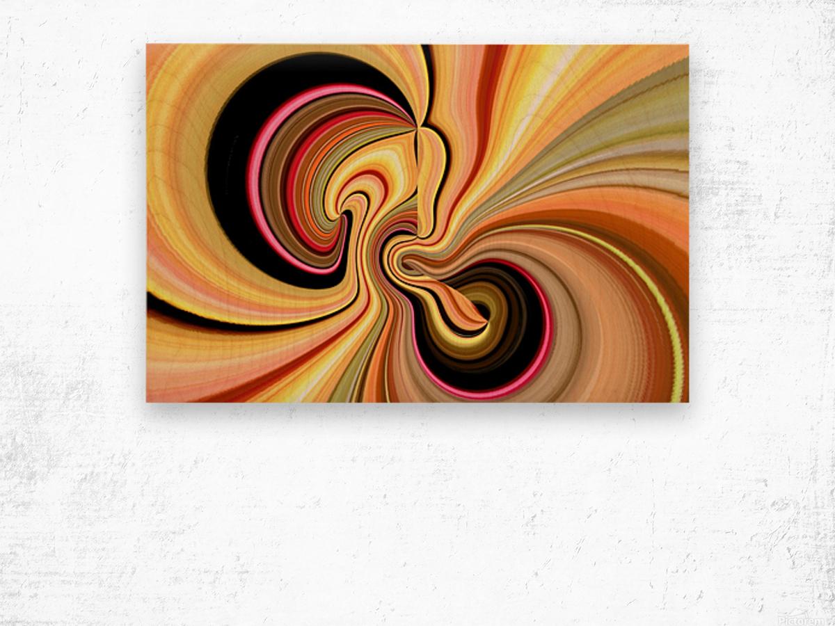 DISTORSION 3 Wood print