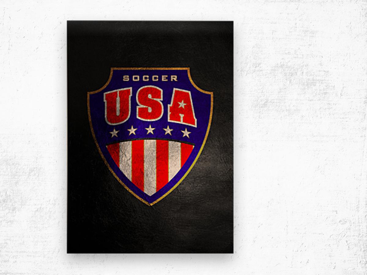 USA Wood print