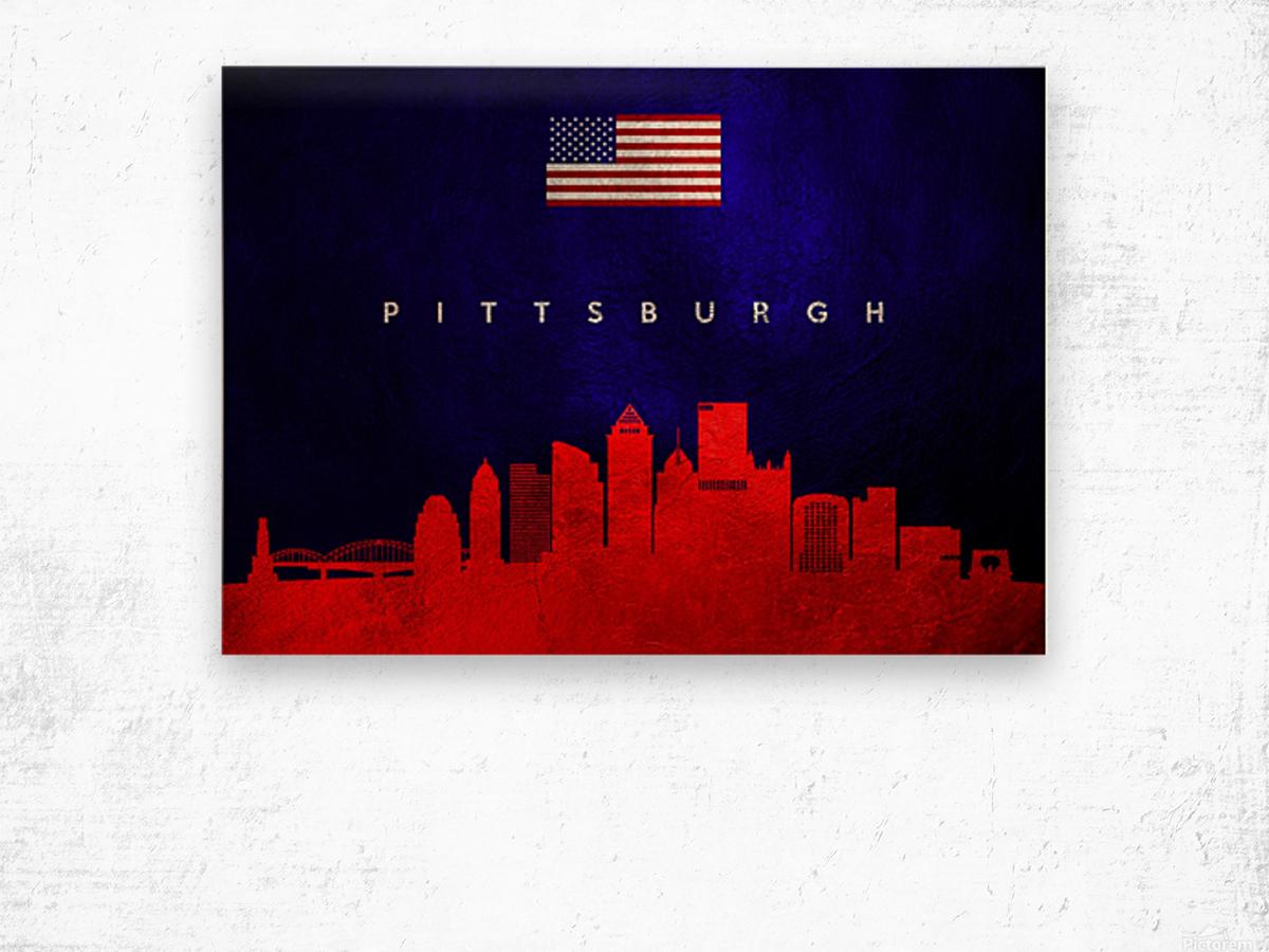 Pittsburgh Pennsylvania Wood print