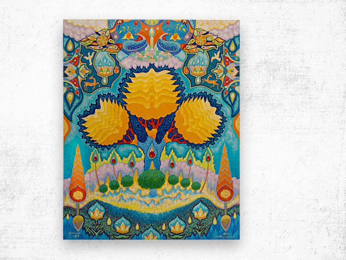2008 015 Wood print