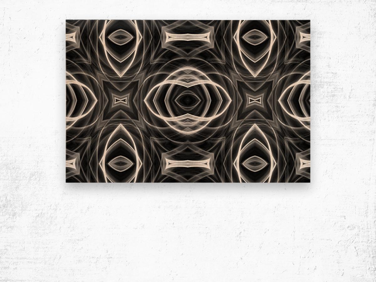 Monochrome Wood print