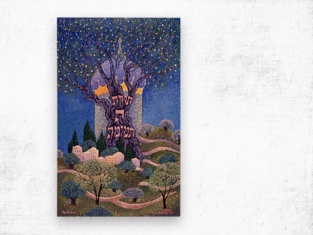 BNC1989-032 Wood print
