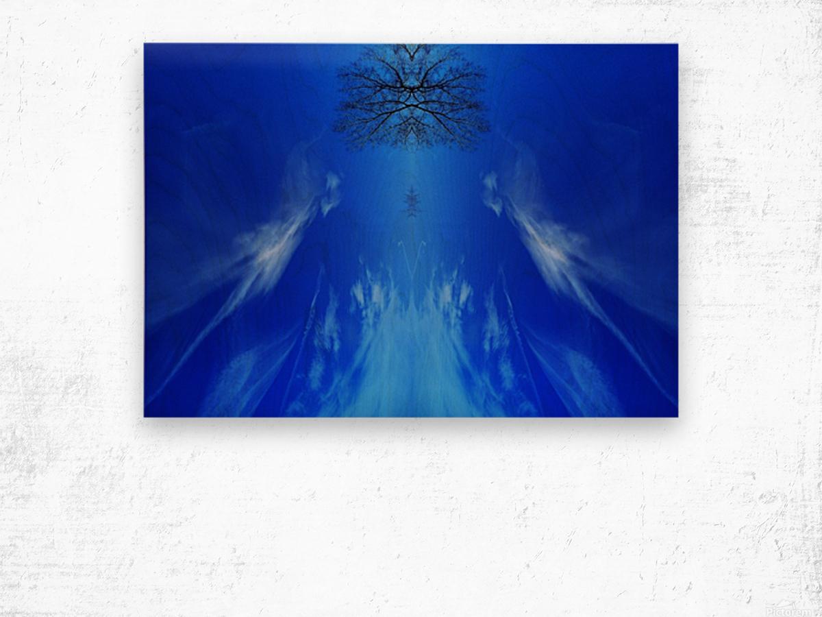 Cloudes 101 Wood print