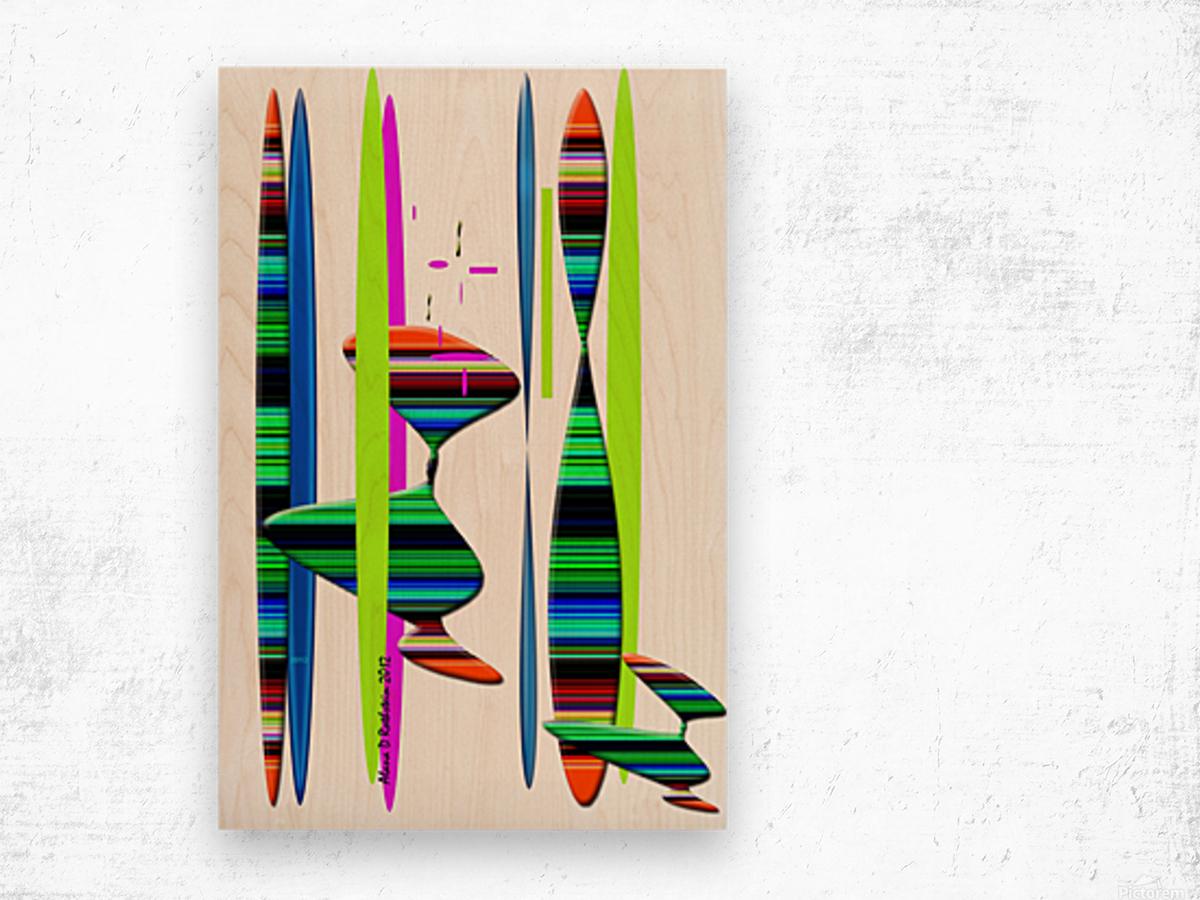LINEAR 1 Wood print
