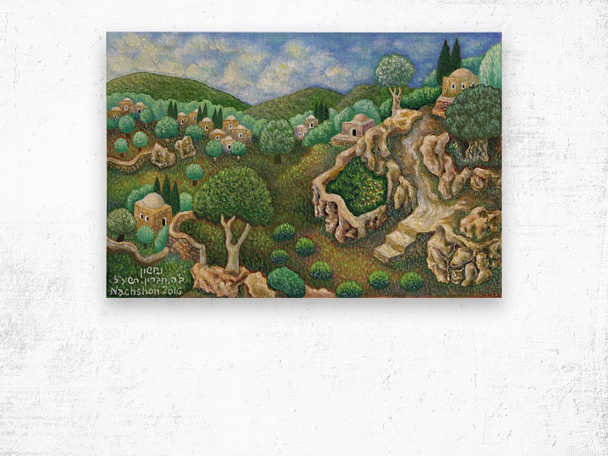 BNC2016-051 Wood print