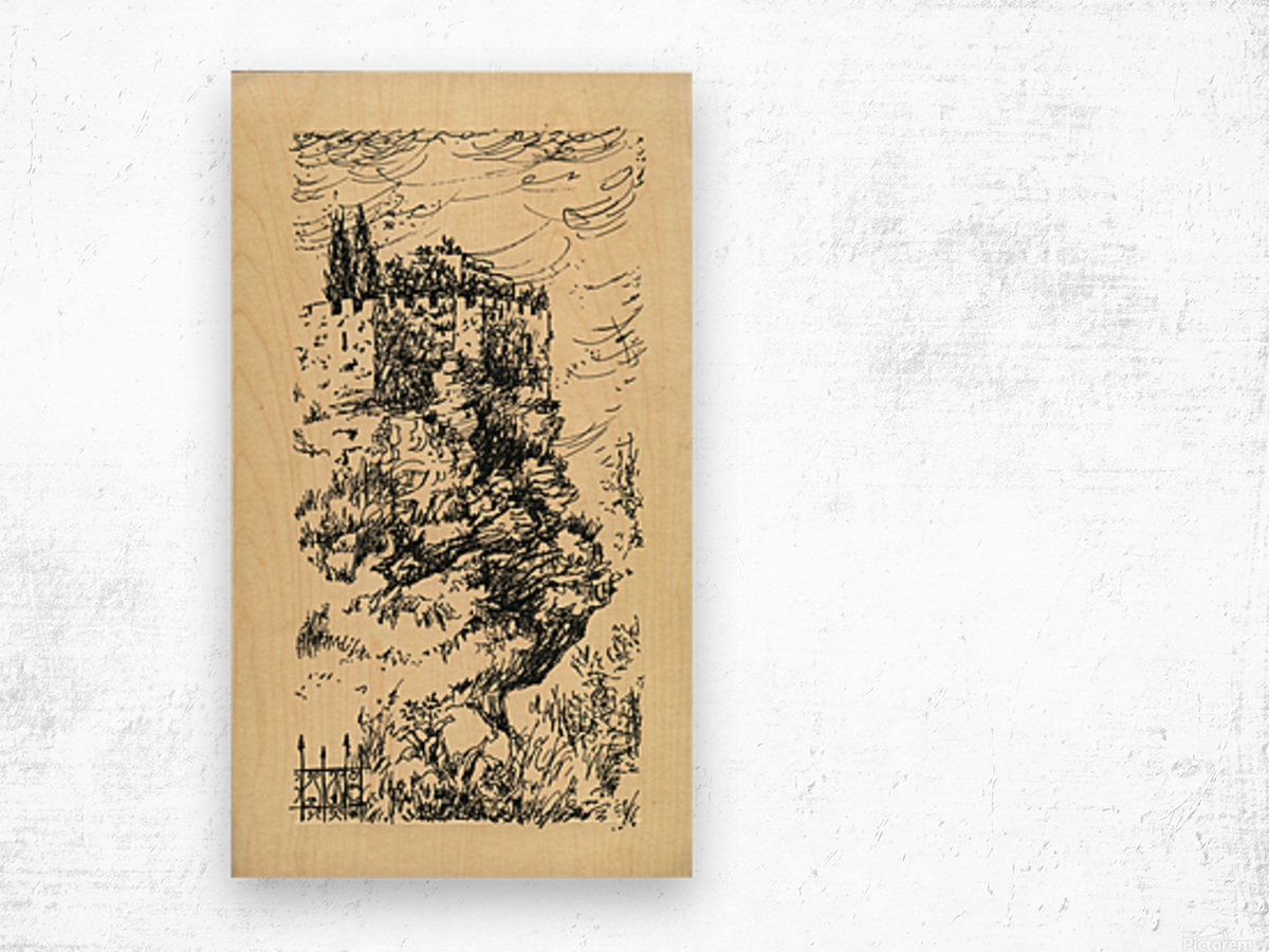 BNC1967-04 Wood print
