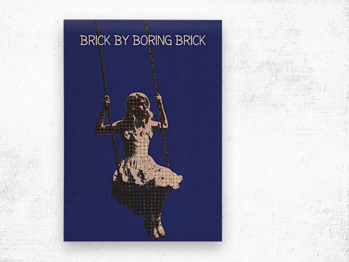 Brick By Boring Brick   Hayley Williams   Paramore Wood print