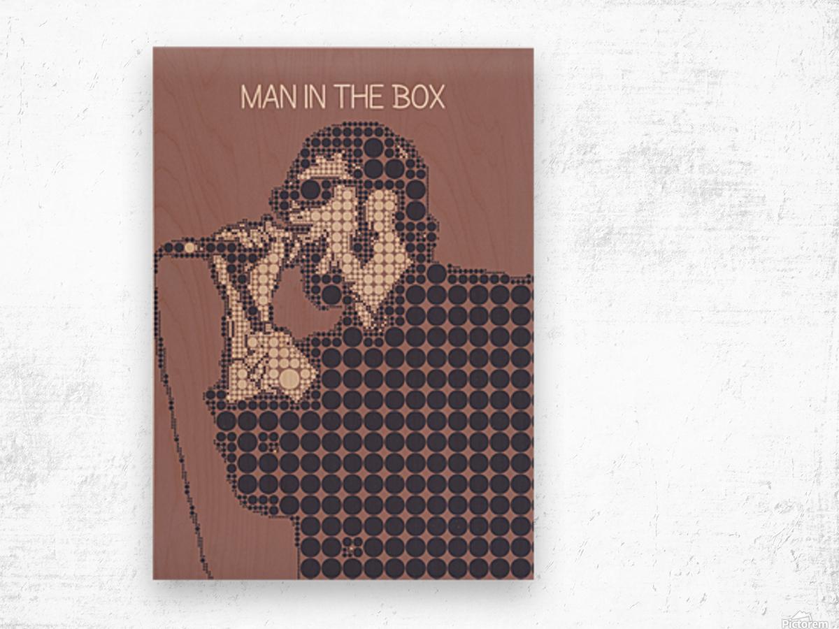 Man in the Box   Layne Staley Wood print