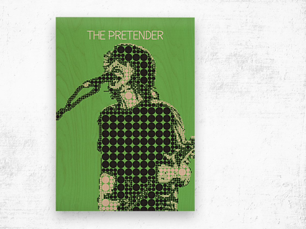 The Pretender   Dave Grohl Wood print