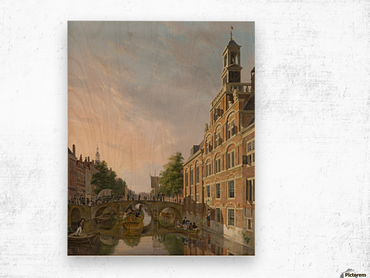The Old Women and Children Home at the Spui, The Hague Wood print