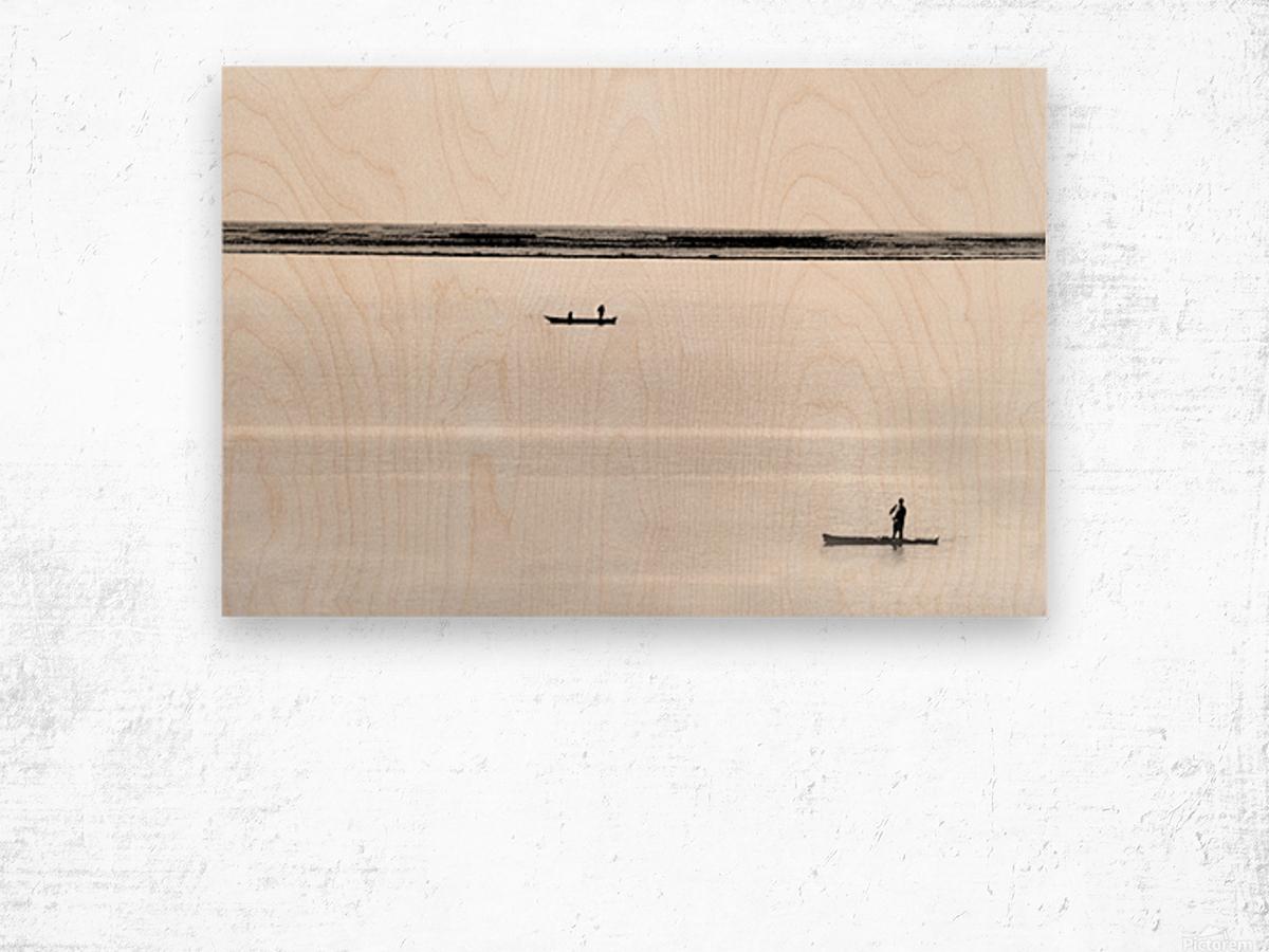 Boat - XXXV Wood print