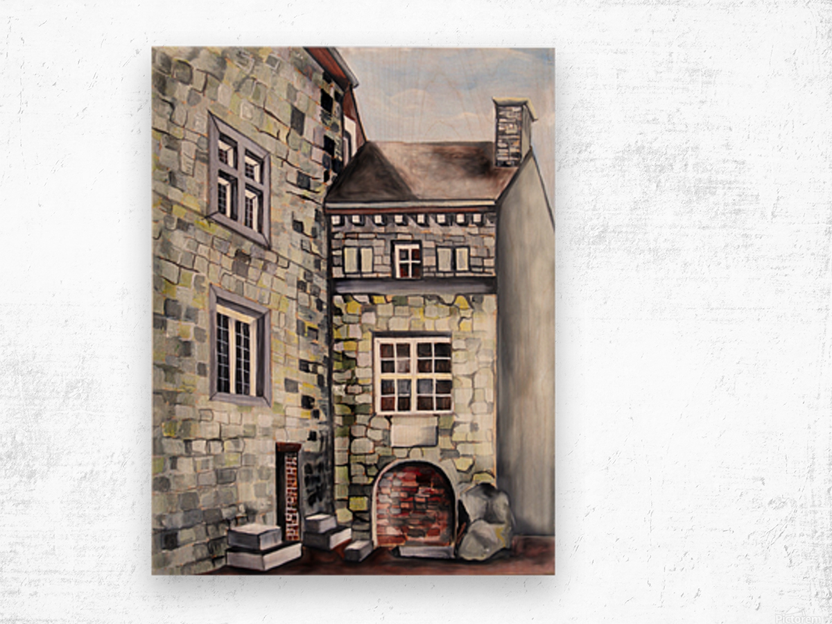 Liege Castle French Provenance  Wood print