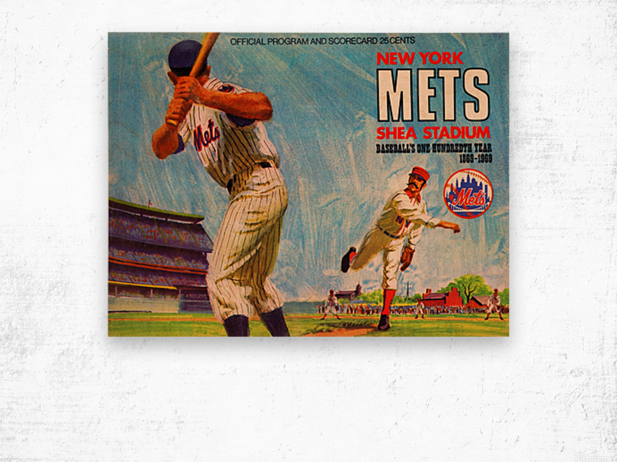 1969 New York Mets Wood print