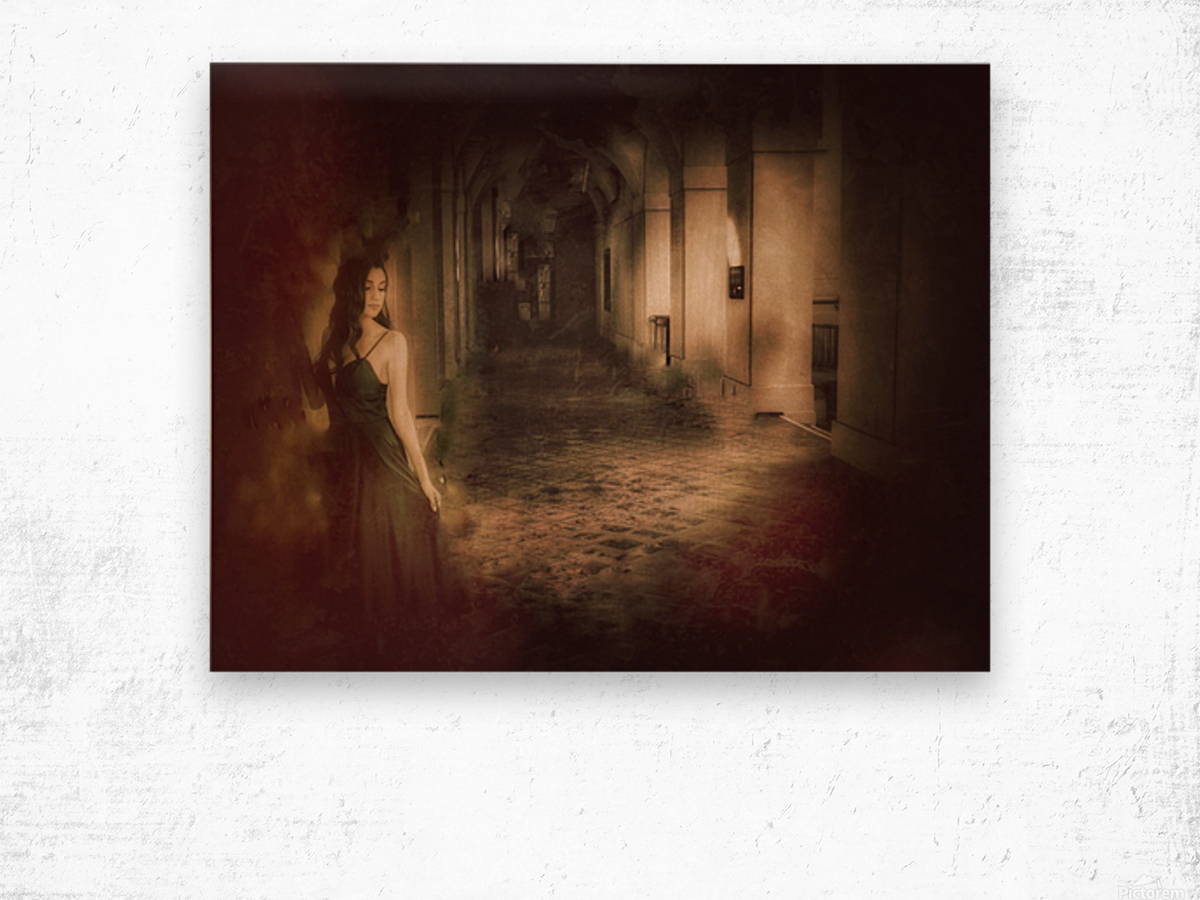 Palace Maiden Wood print