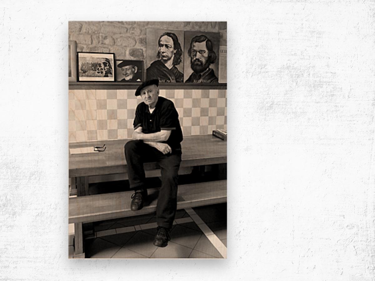 Lucio Uturbia   Anarchist Wood print