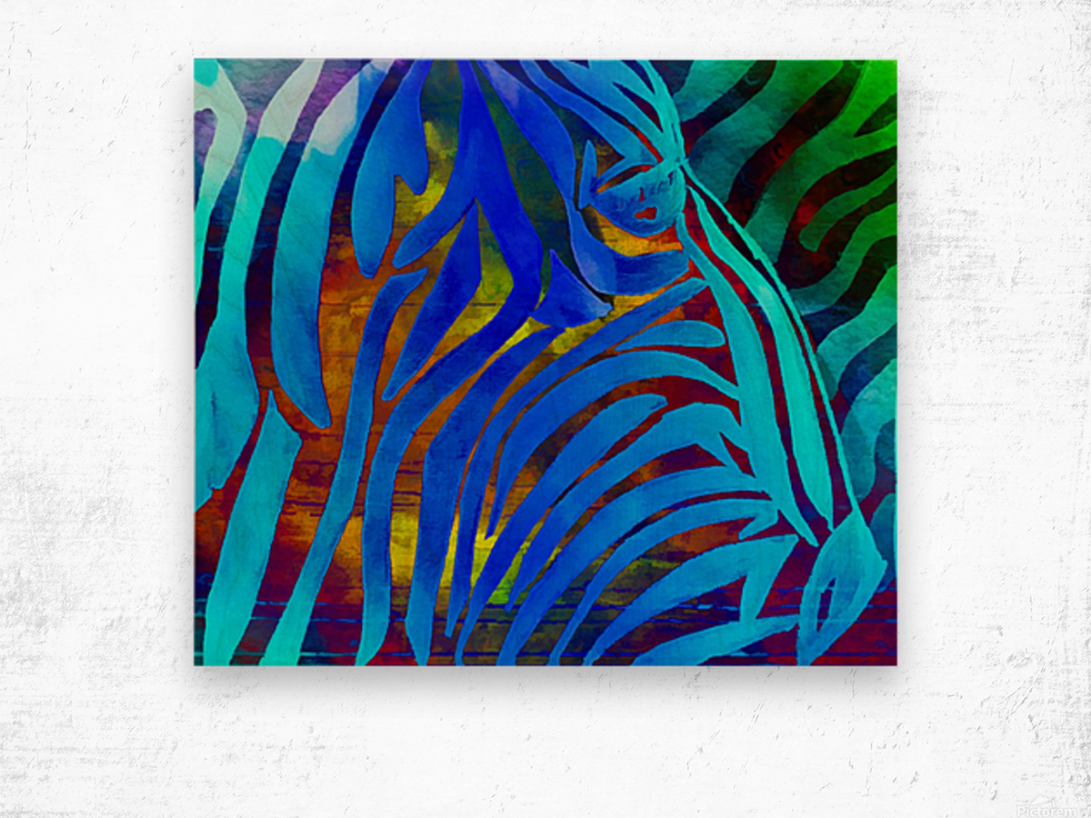 Jungle Fever Wood print