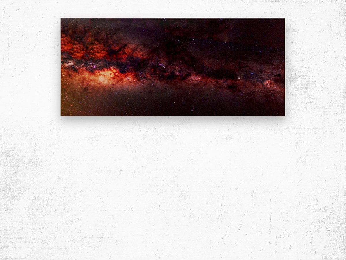 Hymn of the Cosmos Wood print
