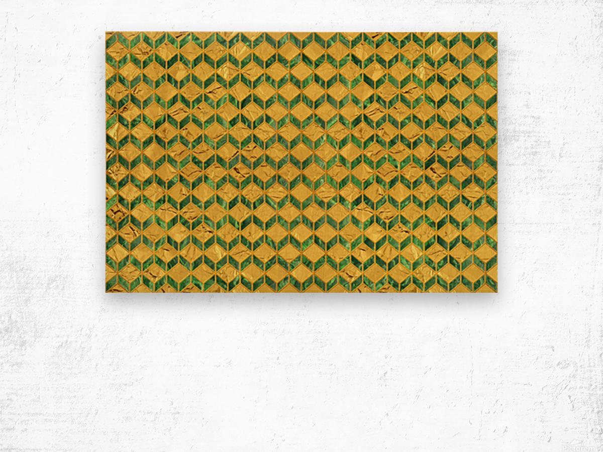Geometric  XXXXIX  Wood print