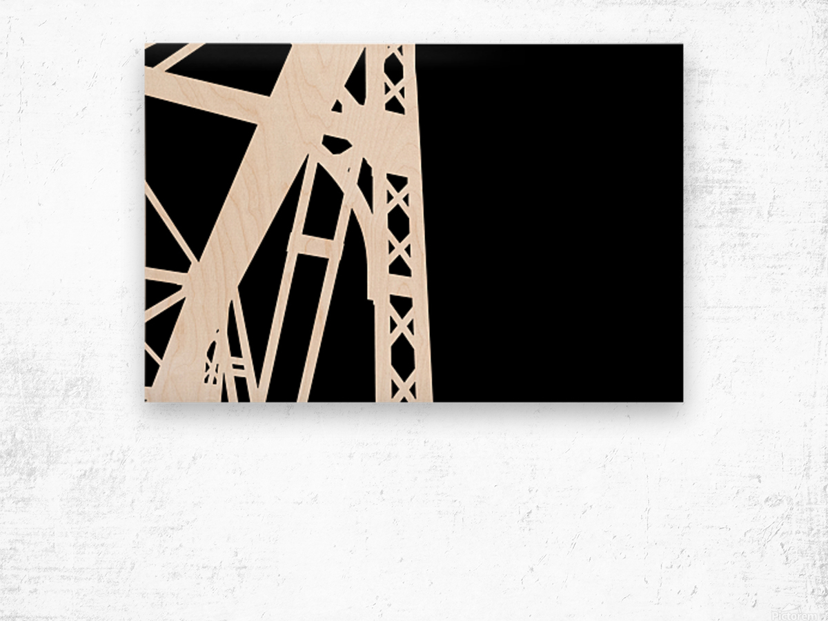 Bridge - XXIV Wood print