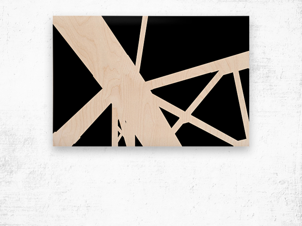Bridge - XXV Wood print